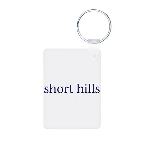Short Hills Aluminum Photo Keychain