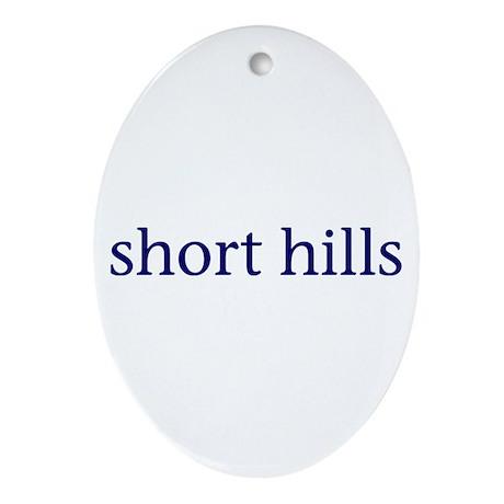 Short Hills Ornament (Oval)