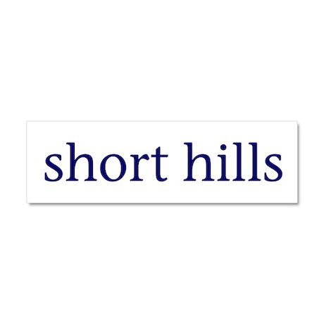 Short Hills Car Magnet 10 x 3