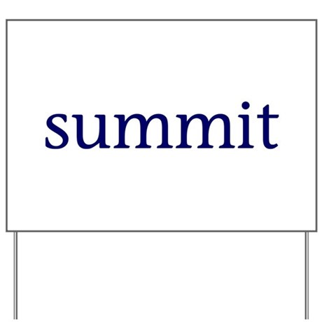 Summit Yard Sign