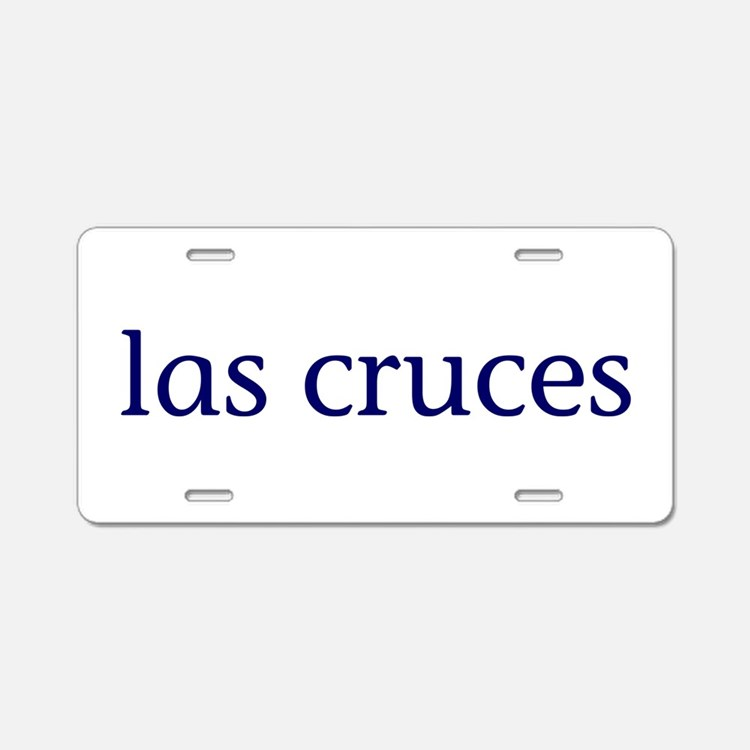 Las Cruces Aluminum License Plate