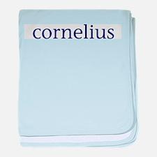 Cornelius baby blanket