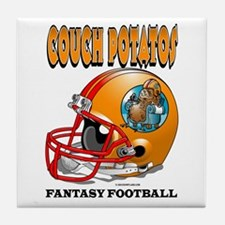 Fantasy Football - Couch Potatos Tile Coaster