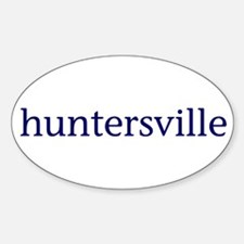 Huntersville Decal