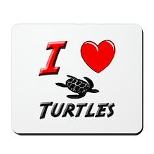 BABY SEA TURTLES Mousepad