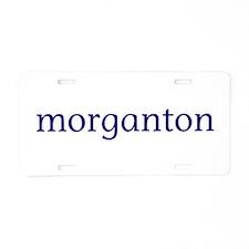 Morganton Aluminum License Plate