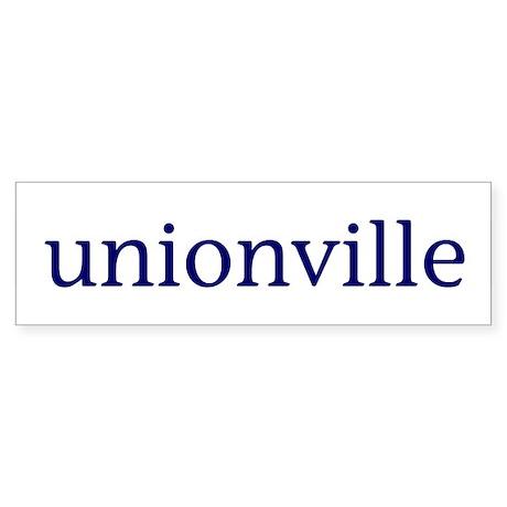 Unionville Sticker (Bumper)