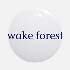 Wake Forest Ornament (Round)
