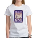 Batik Sunset Marsh  Women's T-Shirt