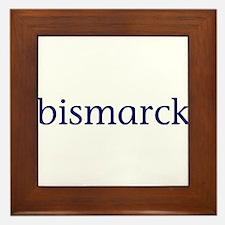Bismarck Framed Tile