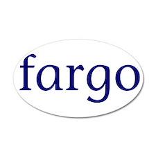 Fargo 38.5 x 24.5 Oval Wall Peel