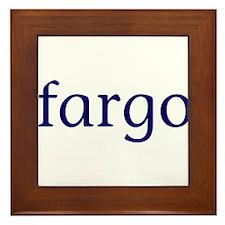 Fargo Framed Tile