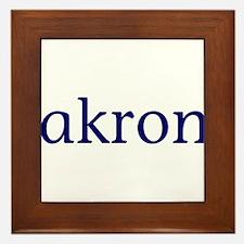 Akron Framed Tile