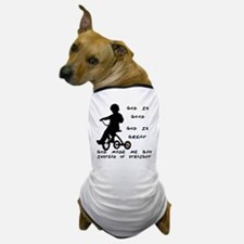 God Made Me Gay (Tricycle) Dog T-Shirt