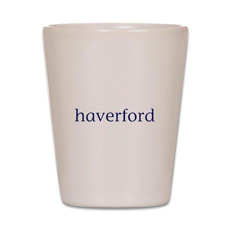 Haverford Shot Glass