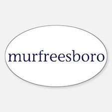 Murfreesboro Decal