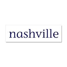 Nashville Car Magnet 10 x 3