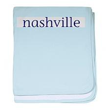 Nashville baby blanket