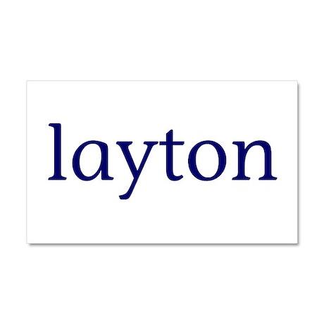 Layton Car Magnet 20 x 12