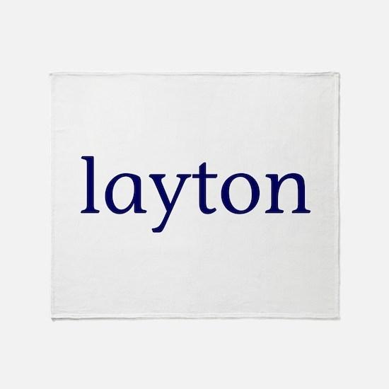Layton Throw Blanket