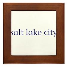 Salt Lake City Framed Tile