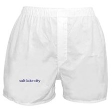 Salt Lake City Boxer Shorts