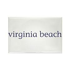 Virginia Beach Rectangle Magnet (100 pack)