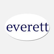Everett 22x14 Oval Wall Peel