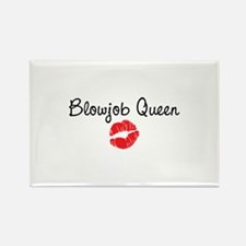 Blowjob Queen Rectangle Magnet (100 pack)