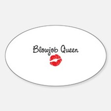 Blowjob Queen Decal