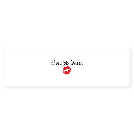 Blowjob Queen Sticker (Bumper)