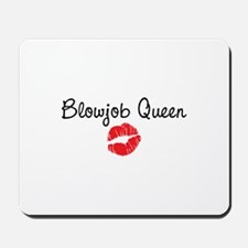 Blowjob Queen Mousepad