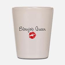 Blowjob Queen Shot Glass