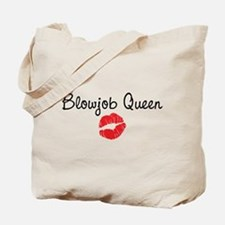 Blowjob Queen Tote Bag