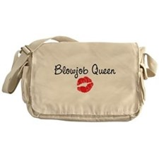 Blowjob Queen Messenger Bag