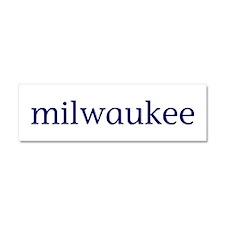 Milwaukee Car Magnet 10 x 3