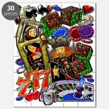Royal Hearts Flush Puzzle