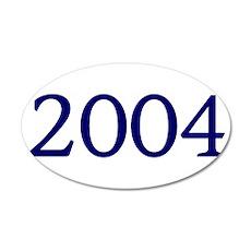 2004 22x14 Oval Wall Peel