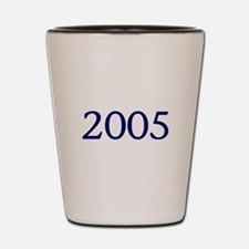 2005 Shot Glass