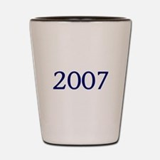 2007 Shot Glass