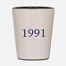 1991 Shot Glass