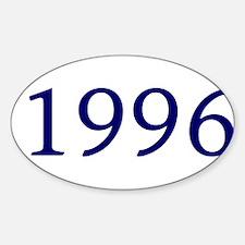 1996 Sticker (Oval)