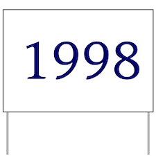 1998 Yard Sign