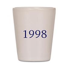 1998 Shot Glass