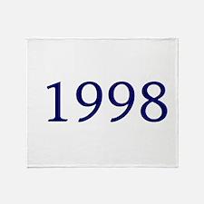 1998 Throw Blanket