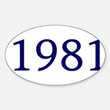 1981 Decal