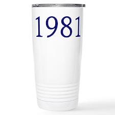 1981 Travel Coffee Mug