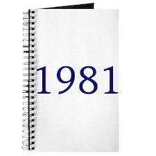 1981 Journal