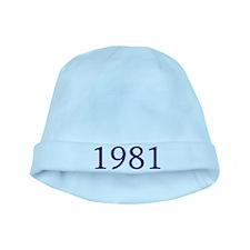 1981 baby hat