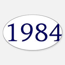 1984 Sticker (Oval)